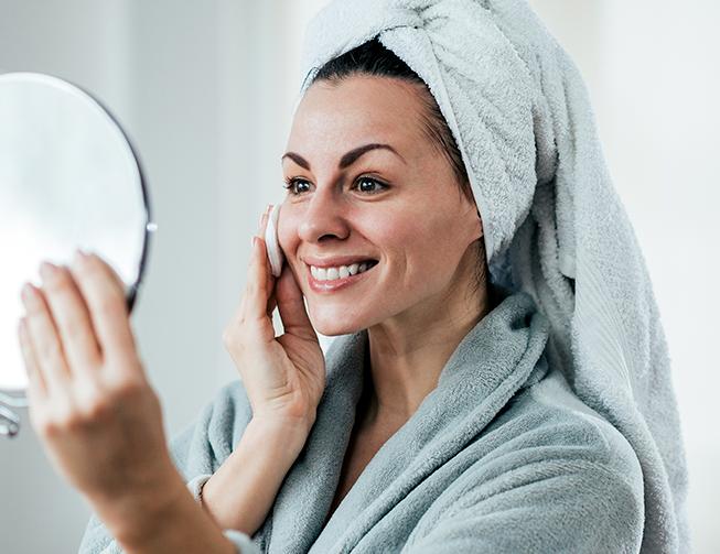 cuidados com a pele na menopausa