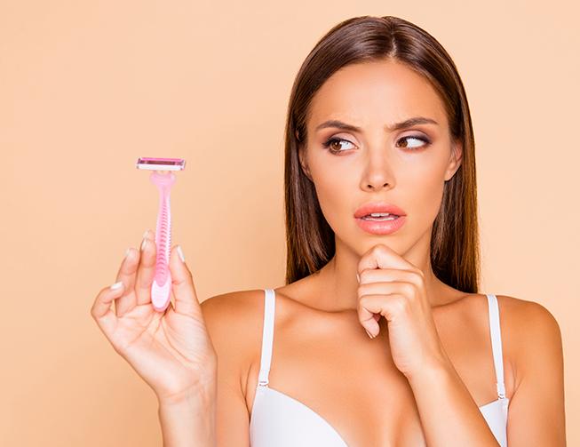Alergia a depilação com lâmina: o que fazer?