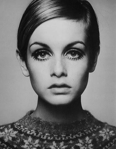 Evolução das sobrancelhas: Anos 60
