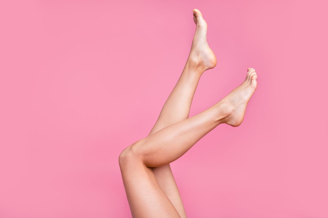 depilação perna completa