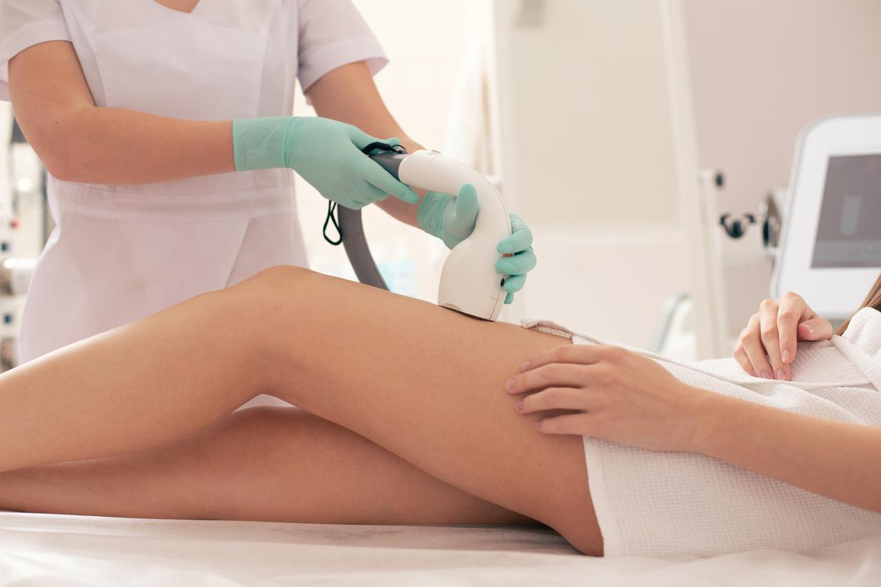 depilação a laser clareia a pele